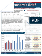 Rep. Tobash December 2011 Economic Brief