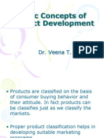 Basic Concepts of Product Development