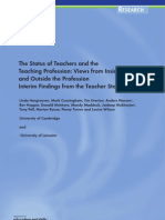 Status of Teachers