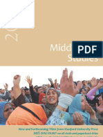 Stanford Middle East Studies Catalog 2012