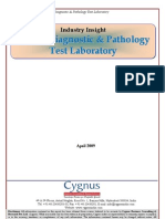 TOC of Indian Diagnostics and Pathology Test Laboratory Industry Insight