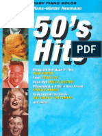 50's Hits for Piano - Arrangements by Hans-Gunter Heumann