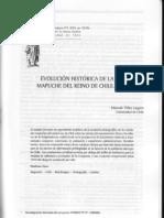Marzo, 22 - Tellez, Eduardo - Evolución Histórica de la población mapuche del reino de Chile