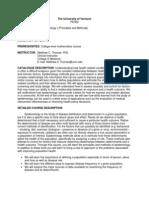 Epidemiology I - PH 396 OL2 - Course Syllabus