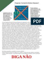 cartaz pndh3