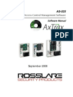 As-525 Axtrax Software Manual 140908