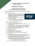 CTUR-Prova2010- 2011