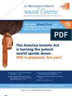PRG Spring 2012 Advanced Courses Magalog
