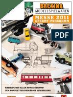 Brekina Modellspielwaren Catalogue / Catalog / Katalog 2011