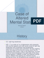 Altered Mental Status 11.30.2011