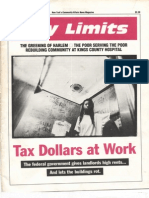 City Limits Magazine, January 1993 Issue