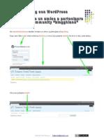 Wordpress Inviti&Utenti Bevilacqua