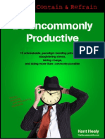 Be Uncommonly Productive - Chrometa