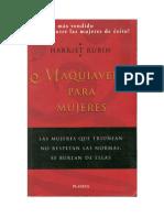 Rubin, Harriet - Maquiavelo Para Mujeres [PDF]