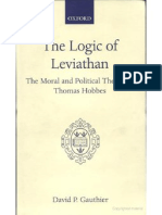 Gauthier - The Logic of Leviathan