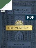 Pahlavi Vendidad by Sanjana