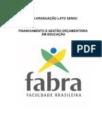 Resenha DE FINANCIAMENTO E GESTÃO....