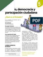 Boletín Nº 5 - Estado Democracia y Participación Ciudadana