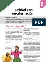 Boletín Nº 6 - Igualdad y No Discriminación
