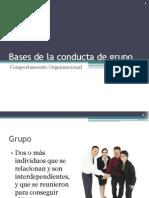 08 Bases de La Conducta de Grupo