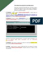 Procedimento Para Atualização DOS