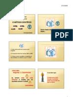 Microsoft PowerPoint - O MÉTODO CIENTÍFICO_1 ENV 1 AULAS ATUALIZADAS