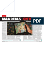 Business Month - Sept 2011 Mergers and Acquisitions