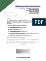Carta de Presentación J Chelme