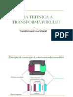 Curs 5 -Transformatoare
