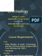 Criminology Power Point general