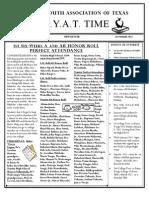 November TYAT Newsletter