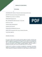 Manual de Convivencia IAAC