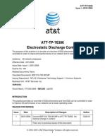 ATT-TP-76306 at & T ESD Control Program