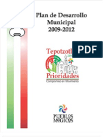Plan de Desarrollo Municipal Tepotzotlan 2009-2012