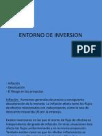 Entorno de Inversin Devaluacin Tasas de Interes)