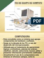 Componentes de Equipo de Computo d