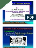 Ruminal  Acidosis/Rumen overload for Vet. Students /Ali sadiek