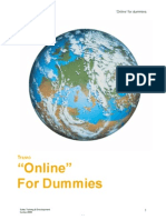 Online for Dummies