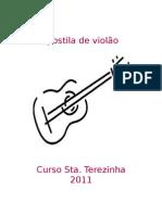 Apostila de violão 2011