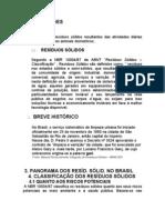TRATAMENTO DE   RESÍDUOS SÓLIDOS URBANOS