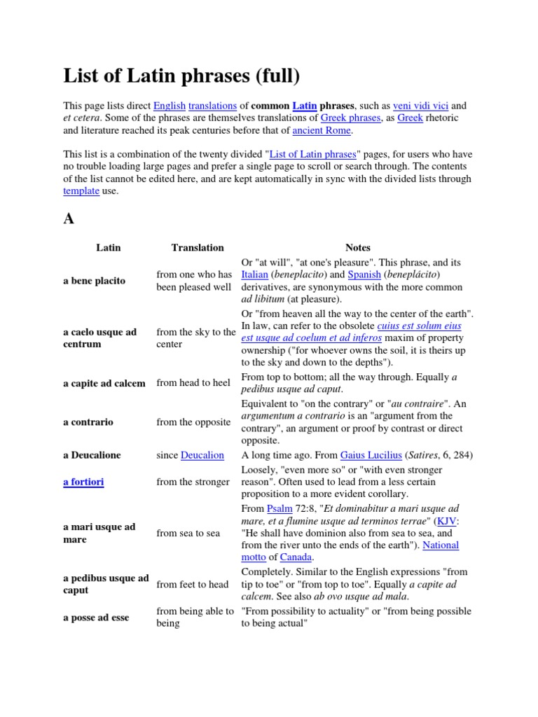 Latin phrases religion and belief science kristyandbryce Choice Image
