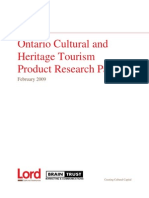 Ontario Cultural and Heritage Tourism