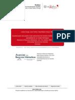 Caracterización del caudal en dos subcuencas de montaña mediterránea, estudio de aplicabilidad de un modelo hidrológico