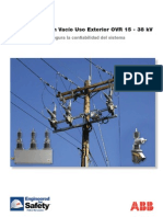 OVR Recloser Brochure 15-38 kV Spanish Rev A