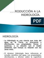 1. INTRODUCCIÓN HIDROLOGÍA-CIENCIA