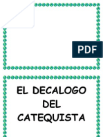 El Decalogo Del Catequista