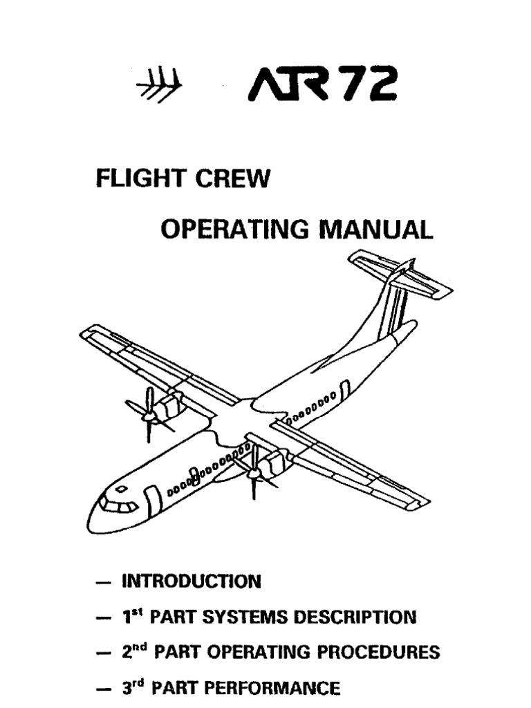 Manual Atr-72 Fcom