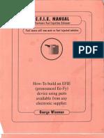 EFIE Manual