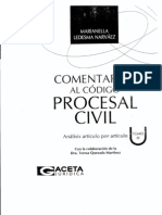 Comentarios Al Codigo Procesal Civil Peruano - Tomo - III