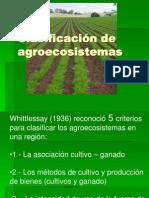 Clasificación de agroecosistemas